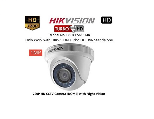 Camera Hikvision DS-2CE56C0T-IR (HD-TVI 1M)